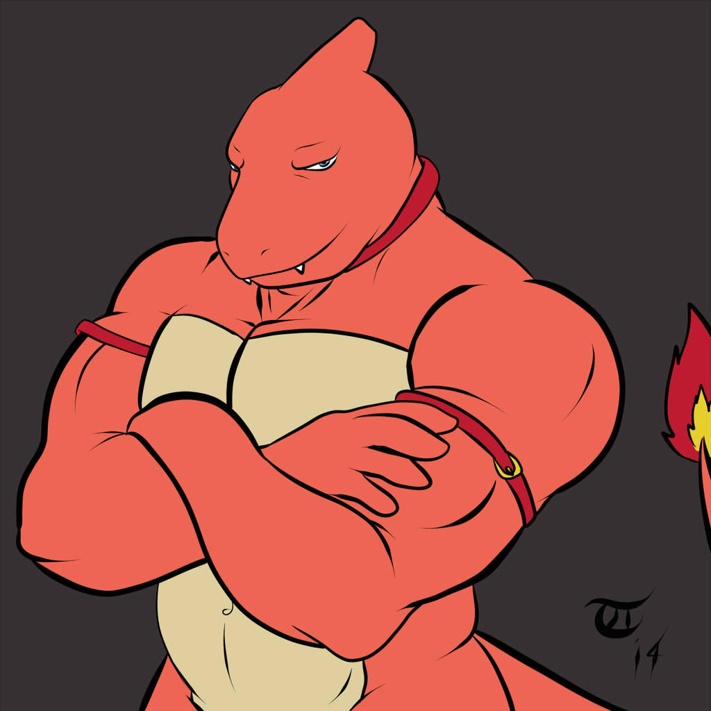 Naughty Charmeleon by GoldPaladinSevlow on DeviantArt