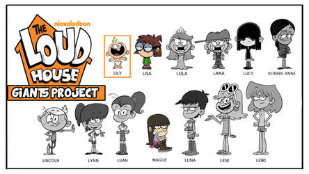 The Loud House Gts Project by KORENOPANZER