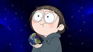 TeraGiantess Chloe Eating the Earth