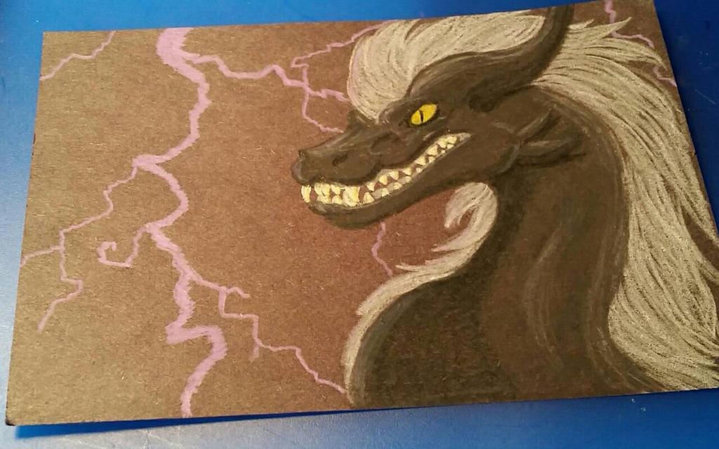 Lightning and Death by BlizzardLynn