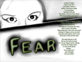 Fear -The Poetry Wall by nutamu