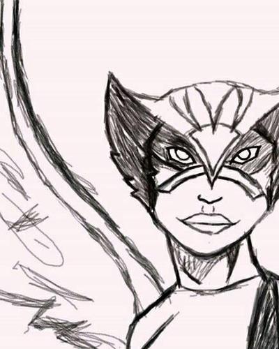 Hawkgirl by majoescalantereens