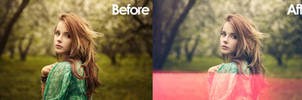 Free actual 35MM Light Leak tiff!!  Before / After
