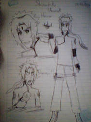 Shinachiku Uzumaki Haruno[Team 7 Next Generation] by LaTigreLaTigresa12