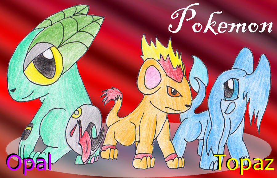Pokemon Topaz Starters Images Pokemon Images