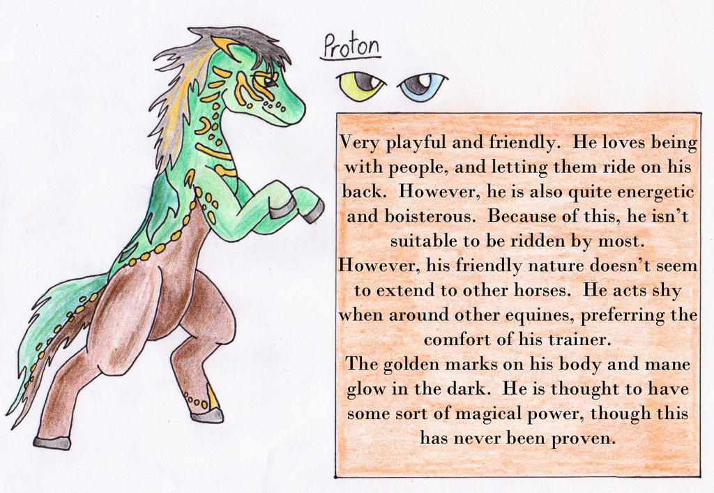 Character Reference: Proton by Operia