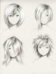 Female hairstyle practice 4
