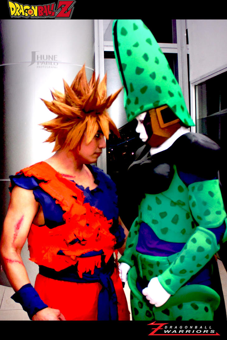 GOKU CELL FACE OFF by maiabest9381
