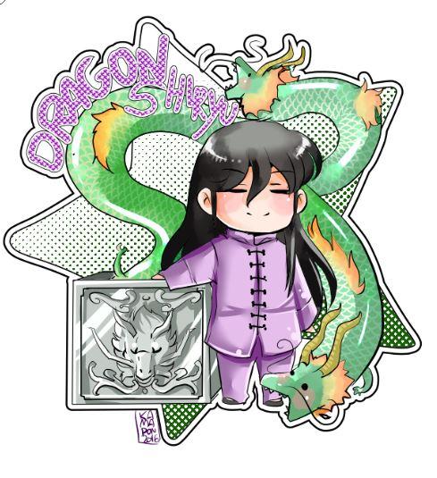 Dragon Shiryuu by kamapon