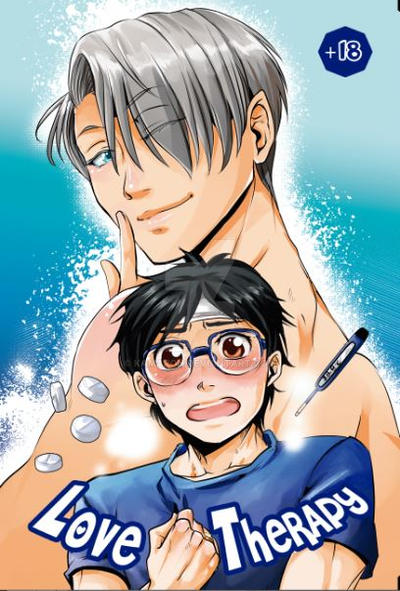 REEDITION- Love Therapy- Victuuri doujinshi by kamapon