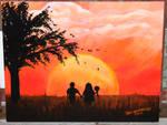H Sunset