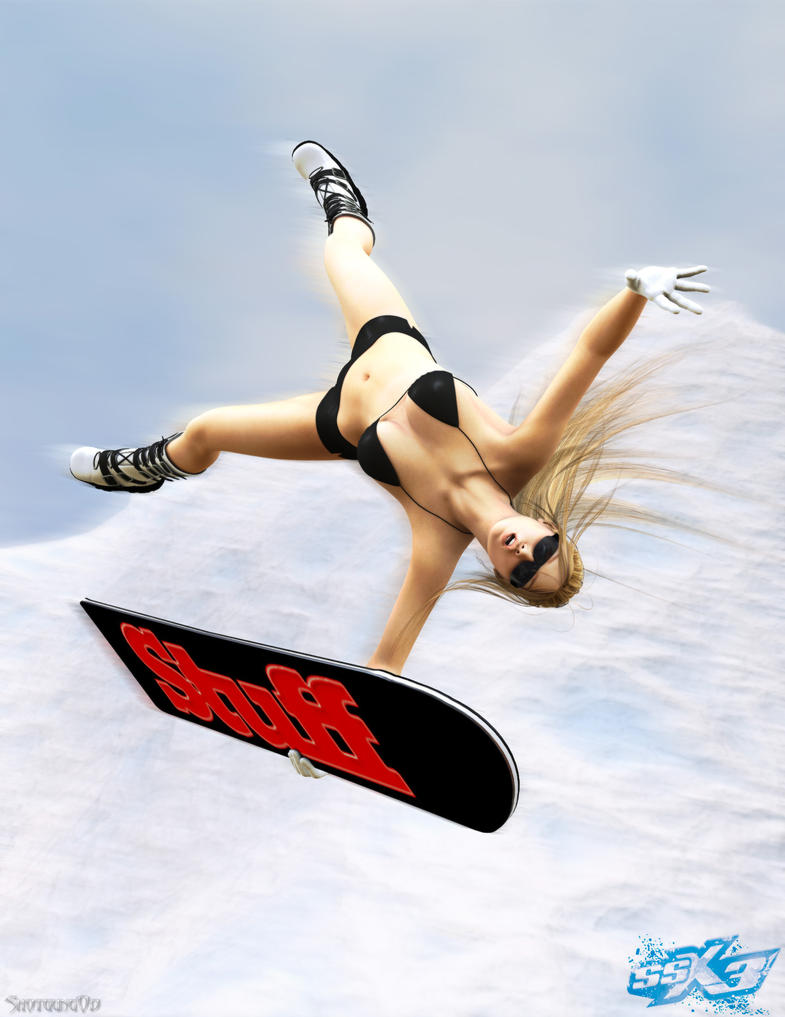 The best Snowboard game to date -