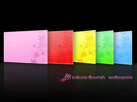 Sakura-Flourish wallpapers by shoden23