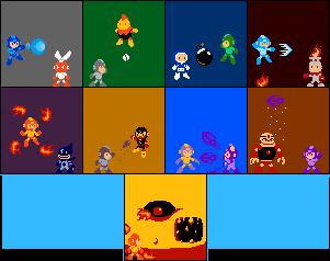 Mega Man 1 by kirbymariomega