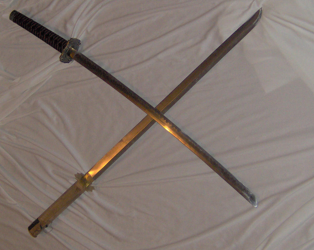 Ninja + Samurai Swords Crossed by Noble-Stock on DeviantArt