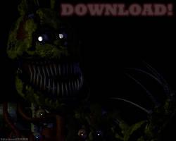 Nightmare Springtrap (Cinema 4D DOWNLOAD) by Boligonautas