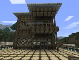 My First Minecraft House by deco1206