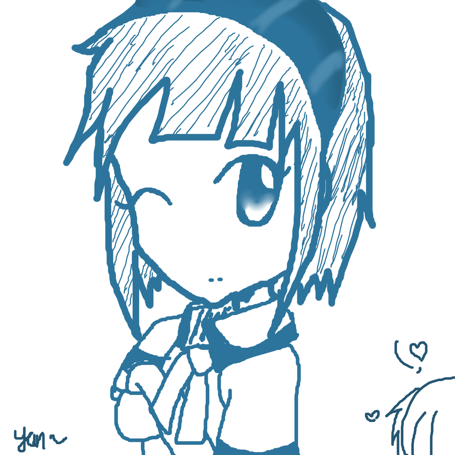 I dunno what is this~ but is Yumi in short hair by Yannie-chan