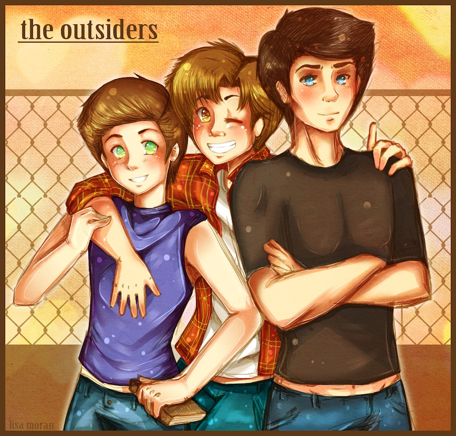 an analysis of the characters in the outsiders by se hinton The outsiders has 724,275 but not really involving the same characters as the outsiders maybe it was due to the fact that se hinton was on set.