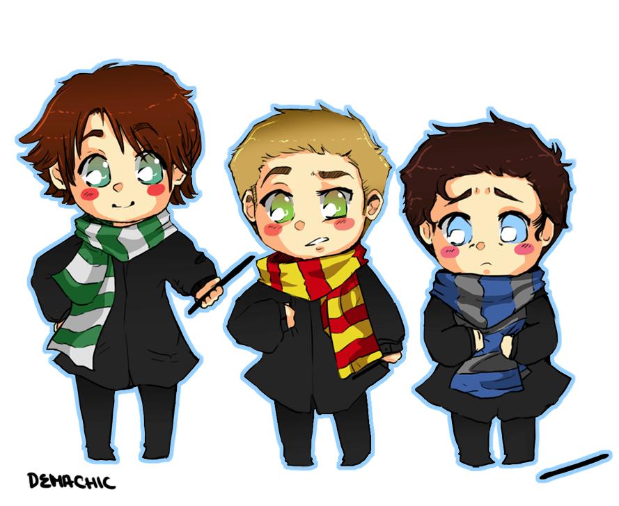 Supernatural Harry Potter By Demachic On Deviantart