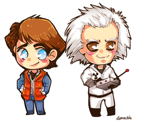 BTTF: Doc and Marty