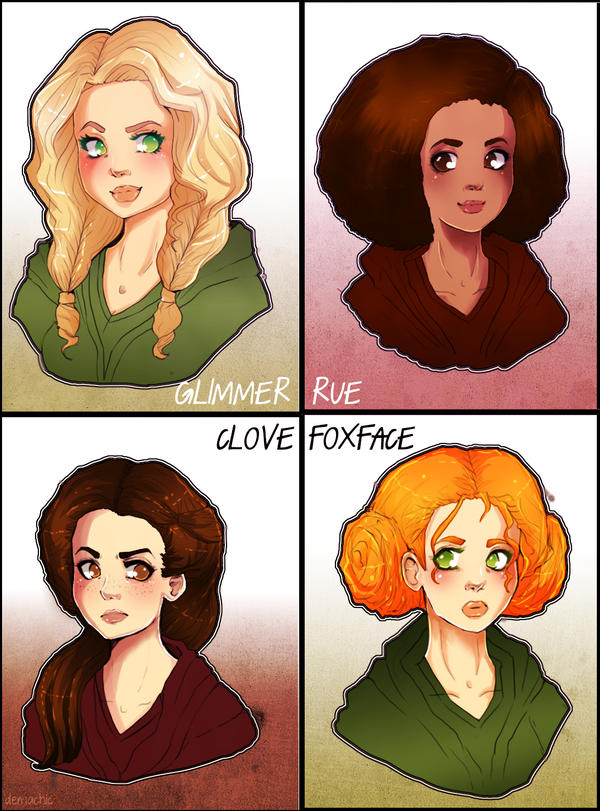 The Hunger Games: Tributes by Demachic on DeviantArt