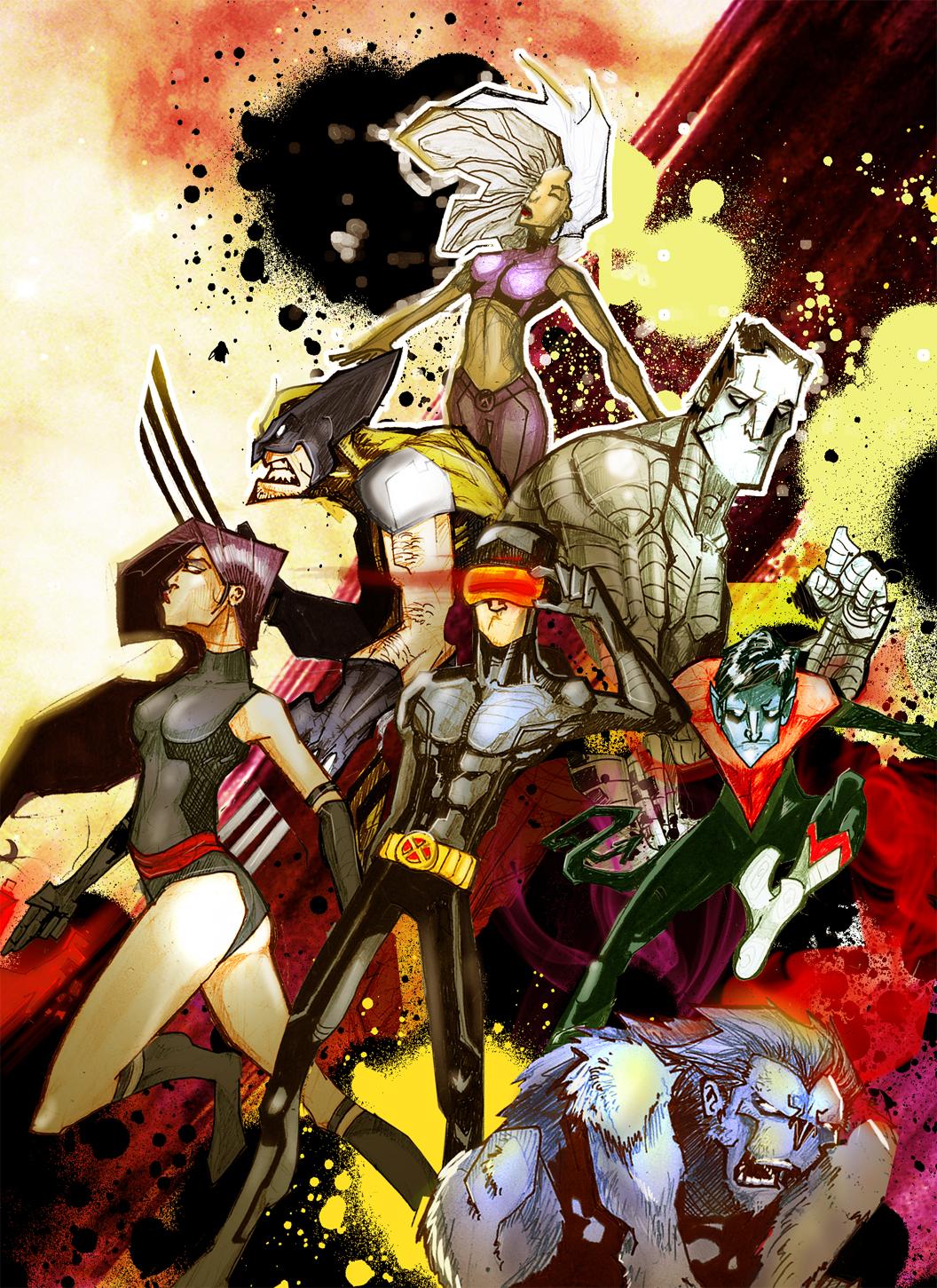 Uncanny X-Men by dnz85