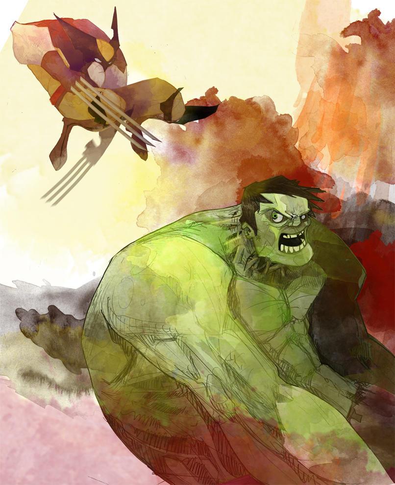 hulk-vs-wolvering