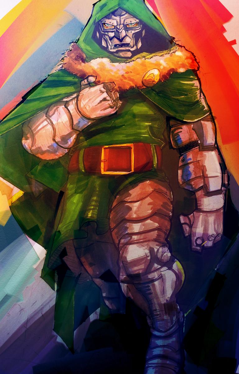 Doctor Doom by dnz85