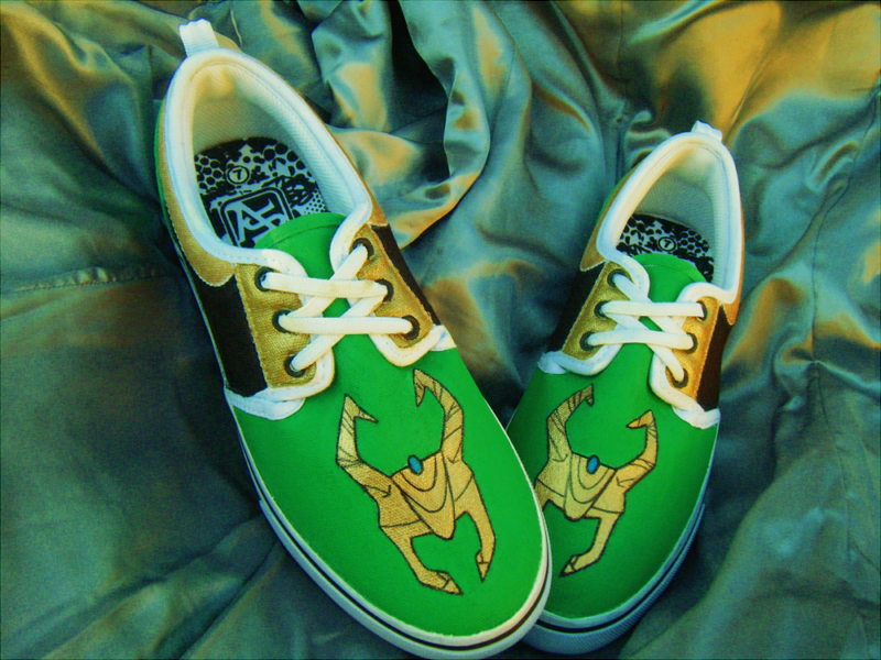 Loki Inspired Shoes by Maritzy
