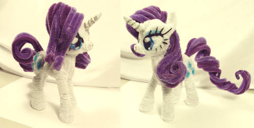 MLPFIM Rarity by PonyCrafter