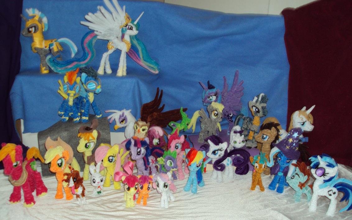 Pony Population by PonyCrafter