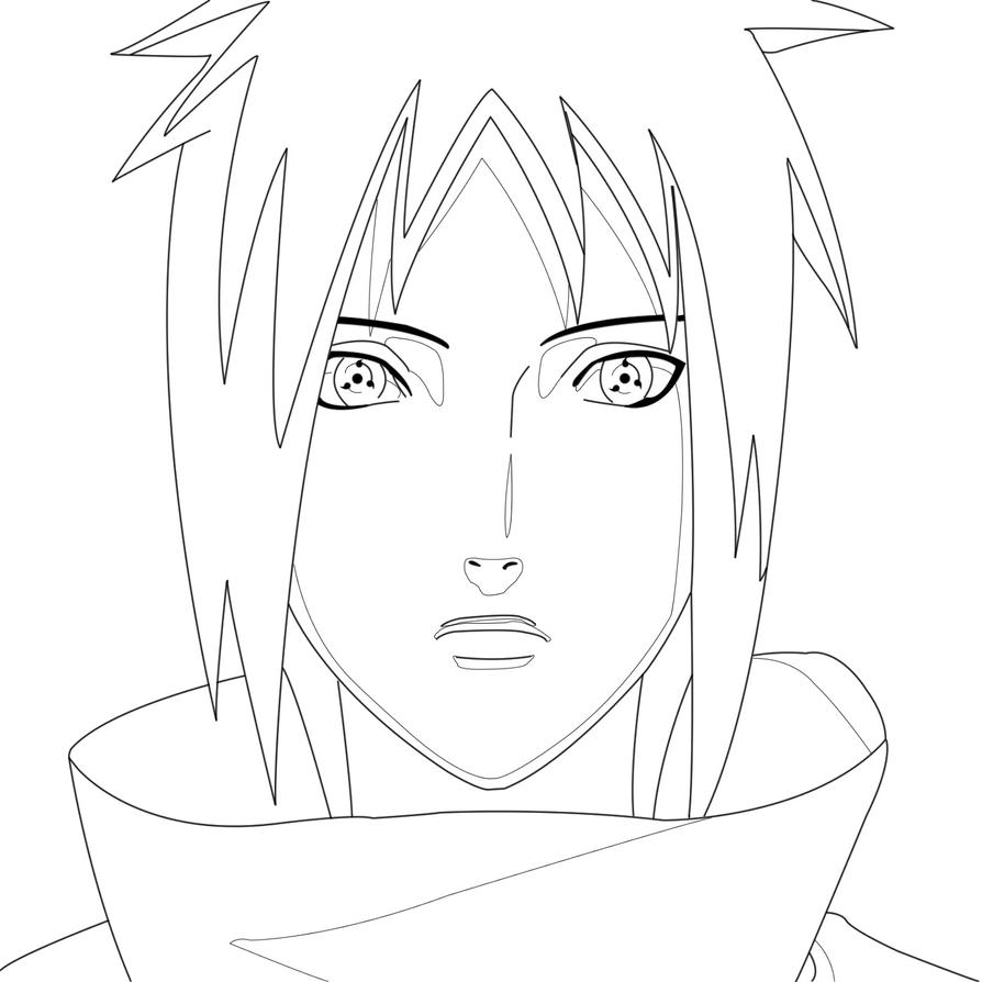 Line Art Shading : Izuna uchiha line art w shading lines by j stan on deviantart