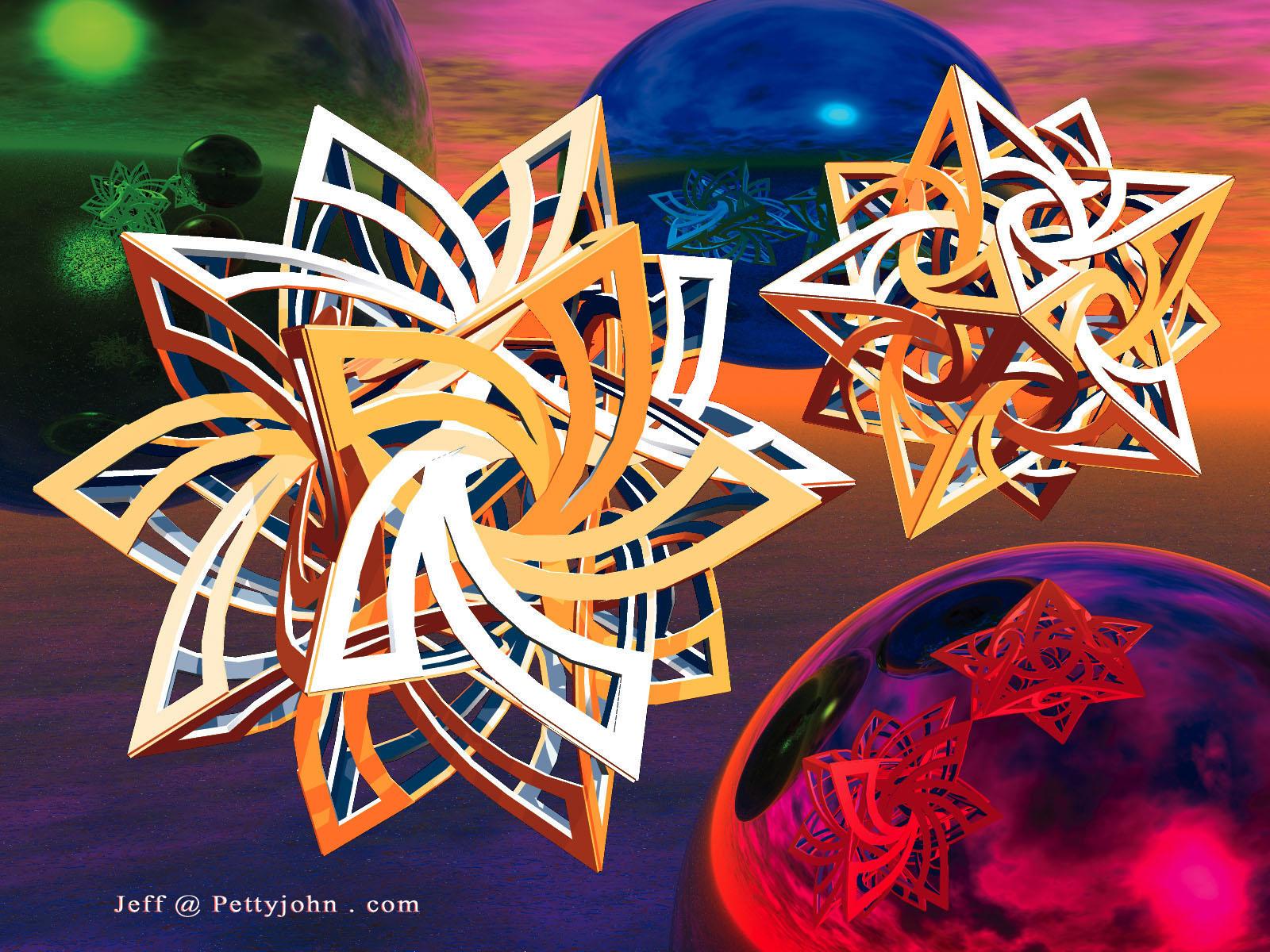 Star Swirls by jsp7707