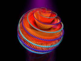 Sphere Spiral by jsp7707