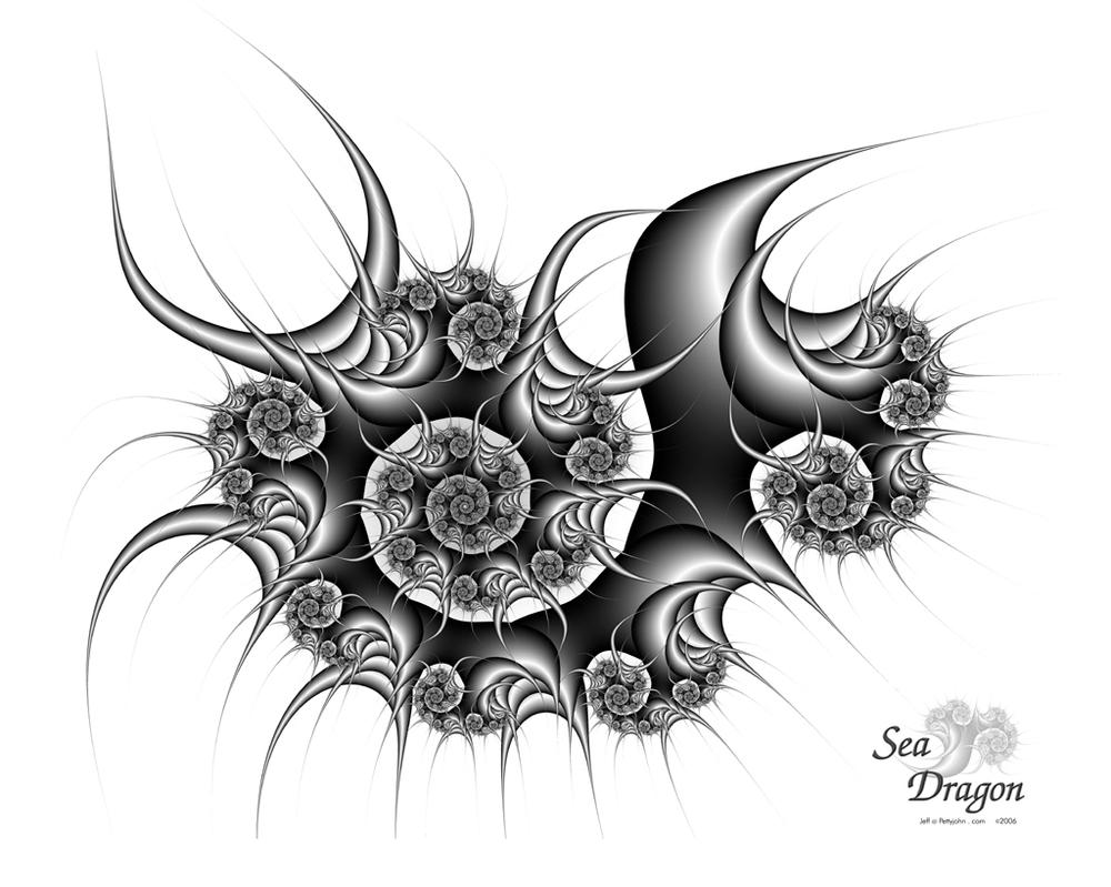 sea dragon print available by jsp7707 on deviantart