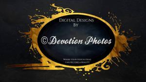 The new Devotion Photos logo design