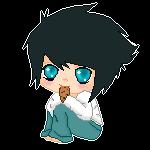 Pixel Chibi L by LoveAyume