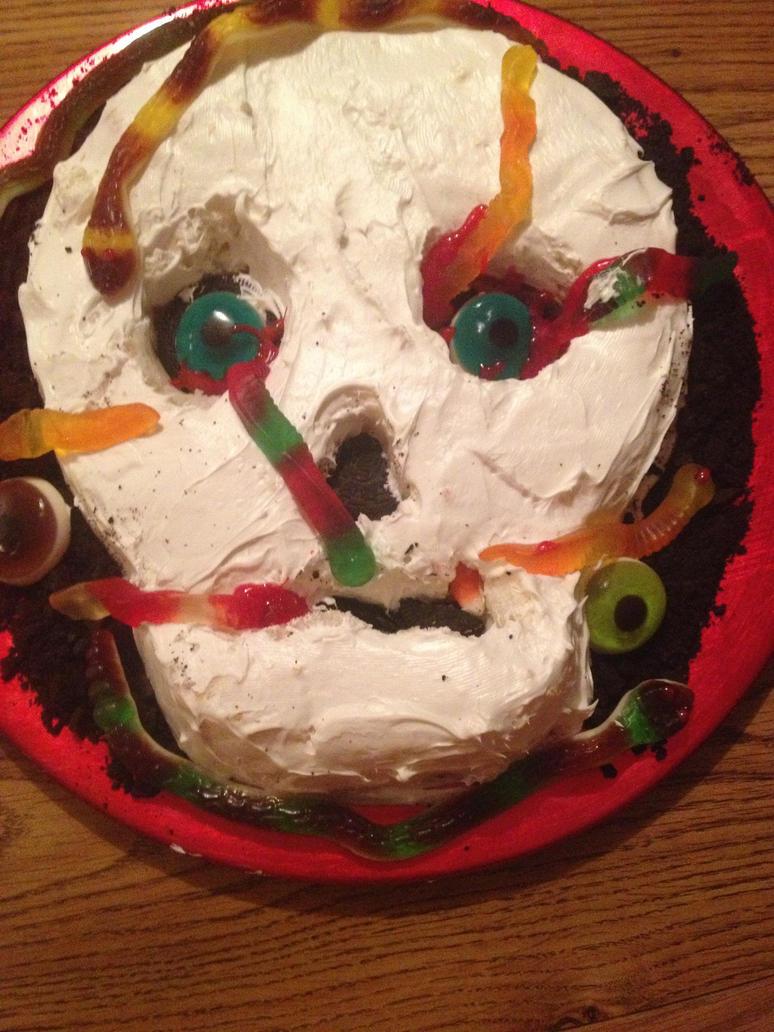 Skull Cake by Tmntfan13