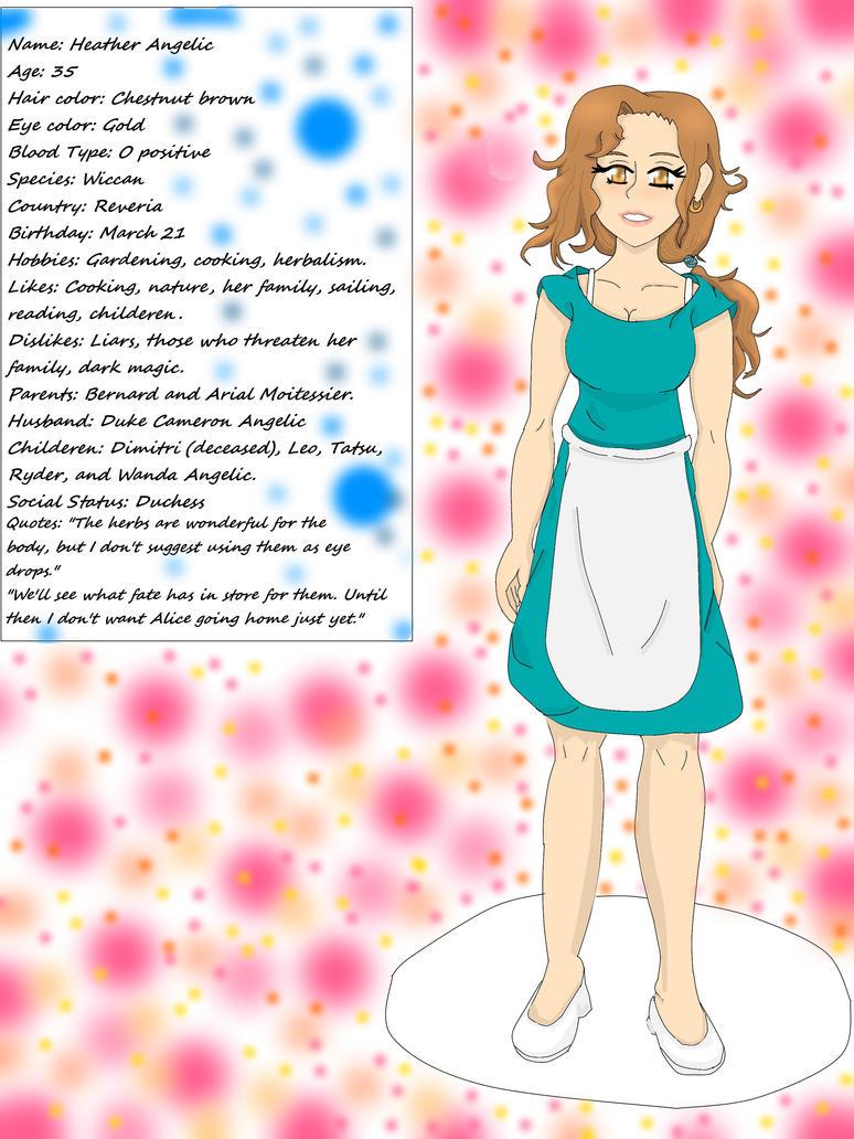 Heather Angelic (Finished) by Tmntfan13
