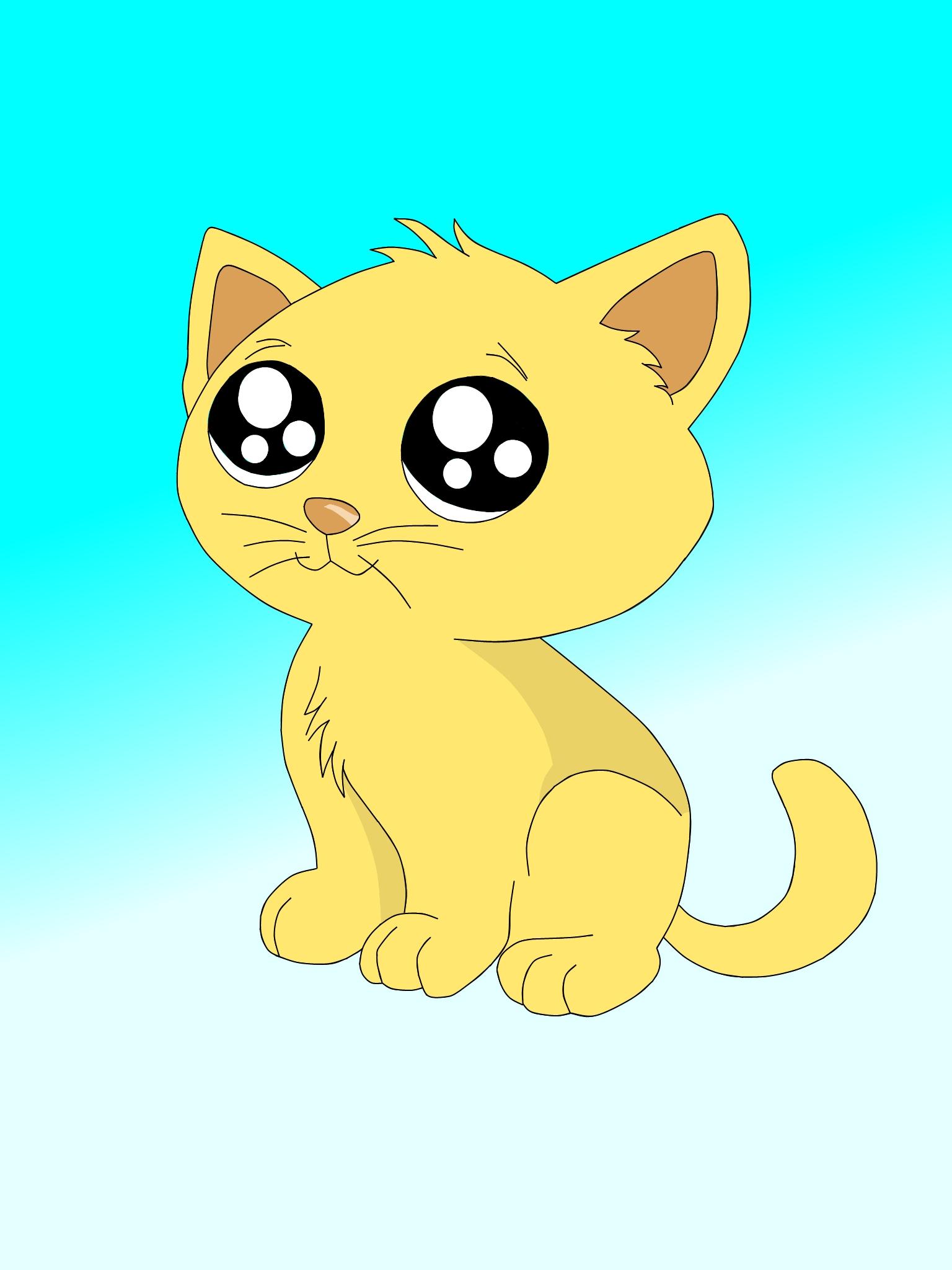 Cute Kitten by Amypink2 on DeviantArt