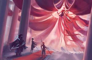 Meeting the Ringmaster goddess by skybrush