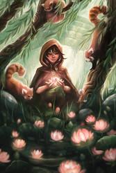 Lotus Lanterns by skybrush