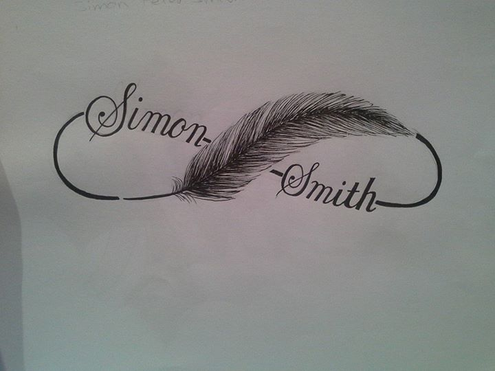 Tattoo Design: Infinity Feather! by princessjade88 on