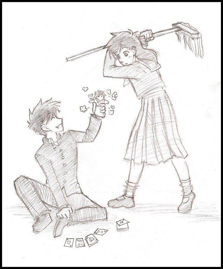 Mở hàng nào  Kaito Kitsudo & Aoko Nakamori! ( sưu tầm ) Kaito_and_Aoko___Distraction_by_kolidescope