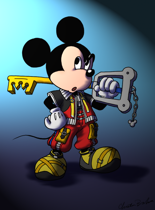 King Mickey by kolidescope