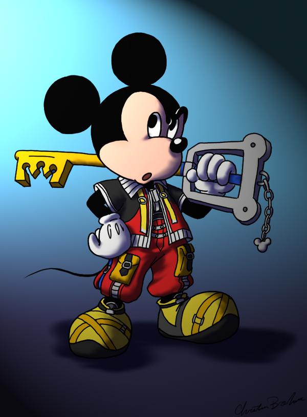 King Mickey by kolidescope
