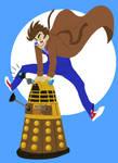 Dave and Dalek by jeresy