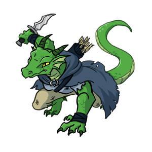 Dragonborn Ranger Valdra