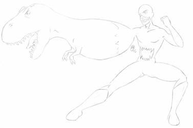 Concept Sketch - Apex Predator